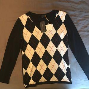 Tommy Hilfiger Women's Argyle Sweater
